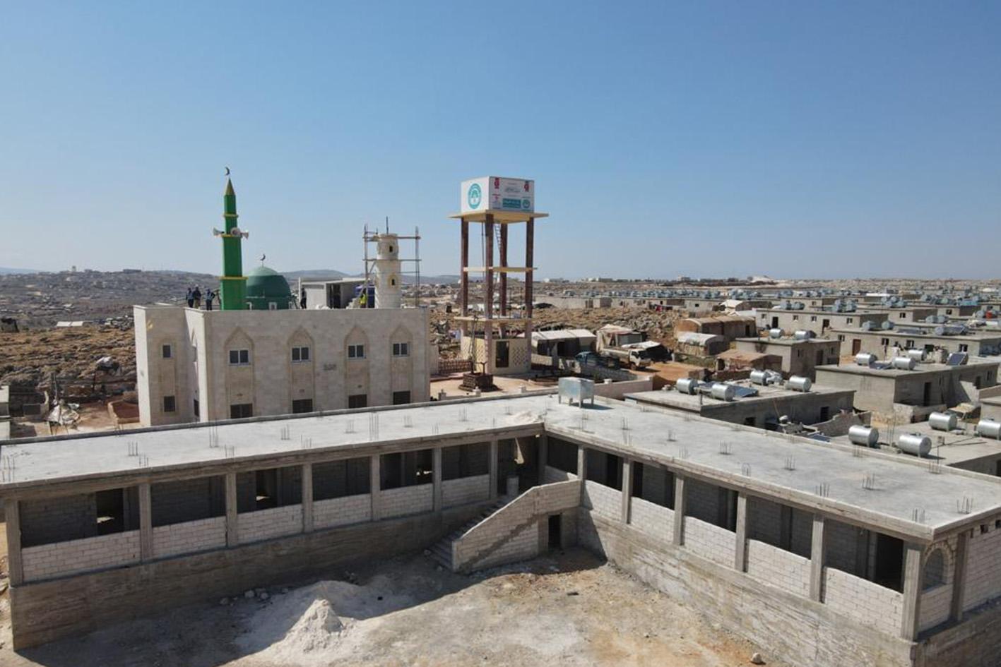 DİTİB'ten İdlib'te ihtiyaç sahipleri için 6 bin konut