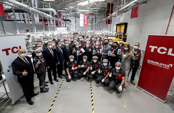 Türkiye'de akıllı telefon üretimine bir yenisi eklendi: TCL20