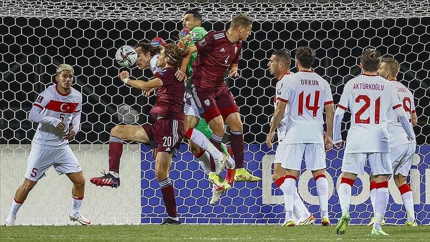 A Milliler Letonya'yı uzatmada 2-1 mağlup etti